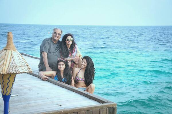 Sridevi's Been Sharing Cute Pictures Of Her Family's Recent Trip