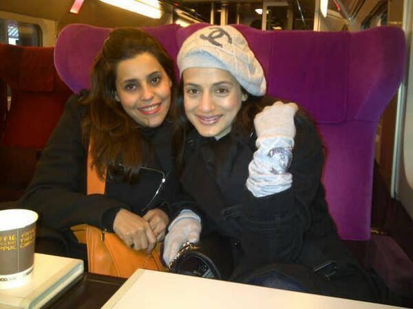 Ameesha Patel Smiling Cool Look Photo At Amsterdam, Netherlands