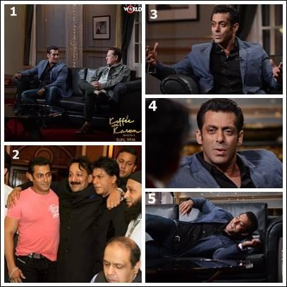 Salman Khan On Koffee With Karan Season 4 Show