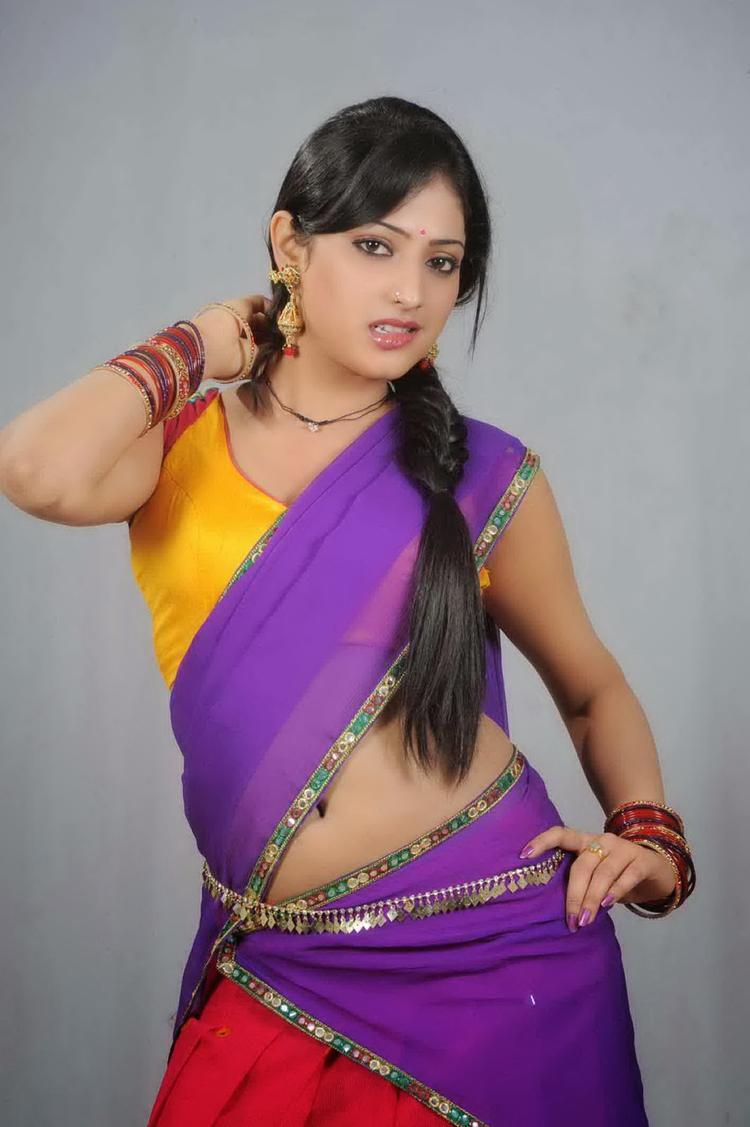 Haripriya Sizzling Hot Look Still From Abbayi Class Ammayi Mass Movie