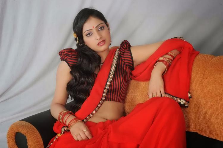 Haripriya Smashing Hot Look Pose Still From Abbayi Class Ammayi Mass Movie