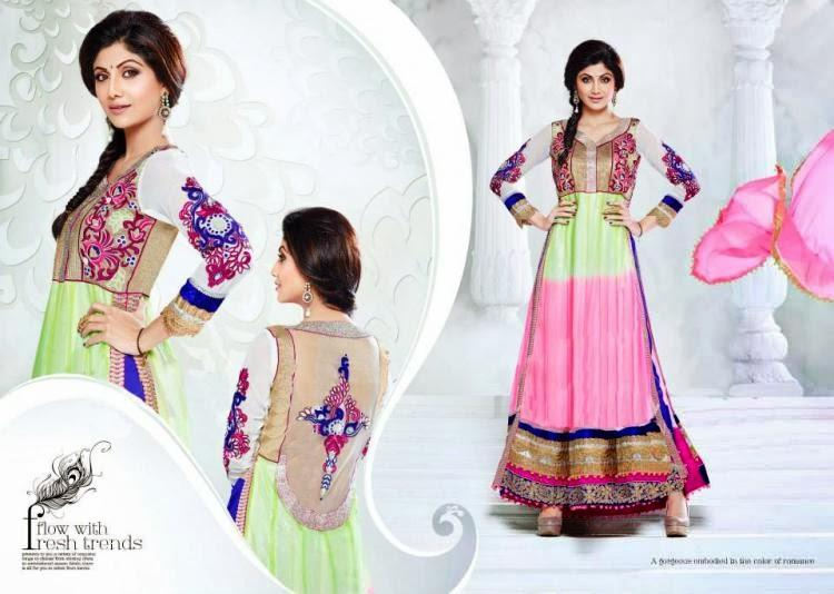 Sizzling Shilpa Shetty New Salwar Kameez Collection Photo Shoot