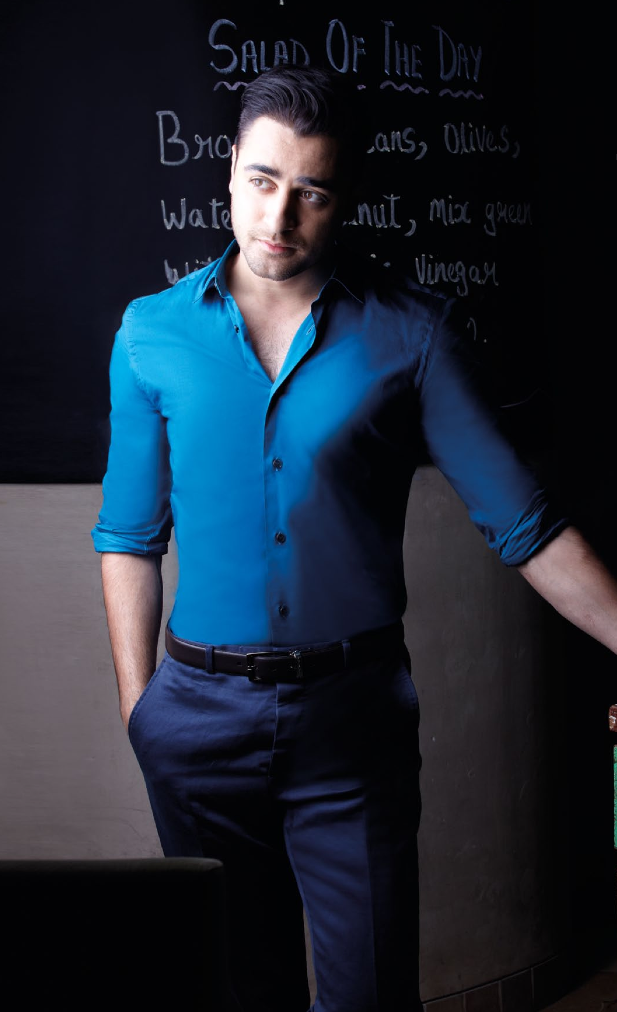 Imran Khan Dashing Look Pose For Noblesse India Magazine January 2014 Issue