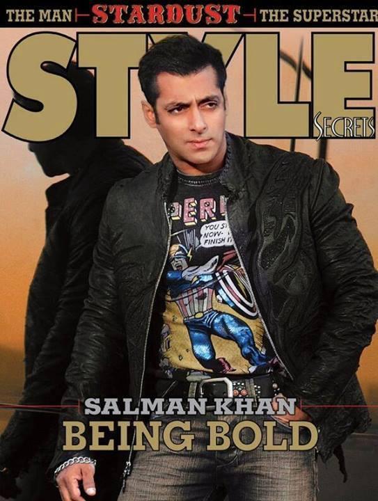 Salman Khan On The Cover Of Rising Stars Magazine Stardust Style