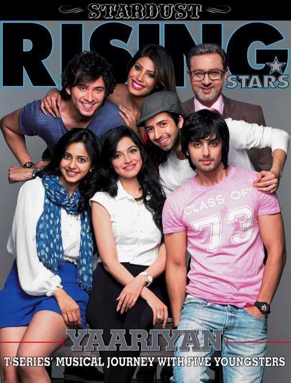 Yaariyan Cast On The Cover Of Stardust Rising Stars