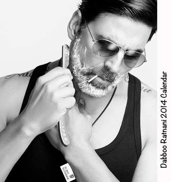 Akshay Kumar Macho Look Shoot For Dabboo Ratnani 2014 Calendar