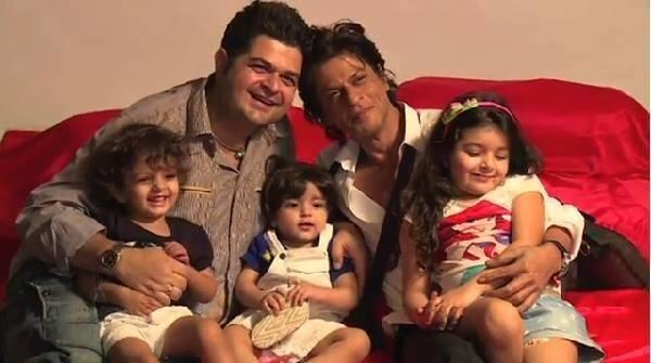 Dabboo Ratnani And SRK Cool Posed With Kids For Dabboo Ratnani 2014 Calendar