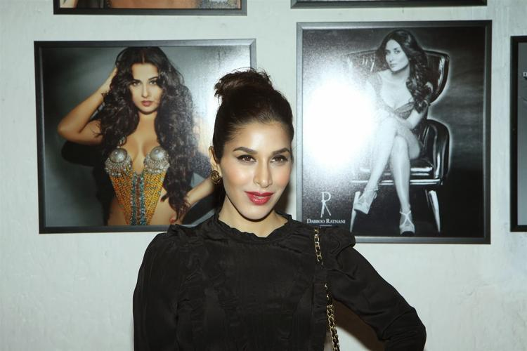 Actress Singer Sophie Choudry Arrives For The Big Bash Dabboo Ratnani's 2014 Calender Launch Event