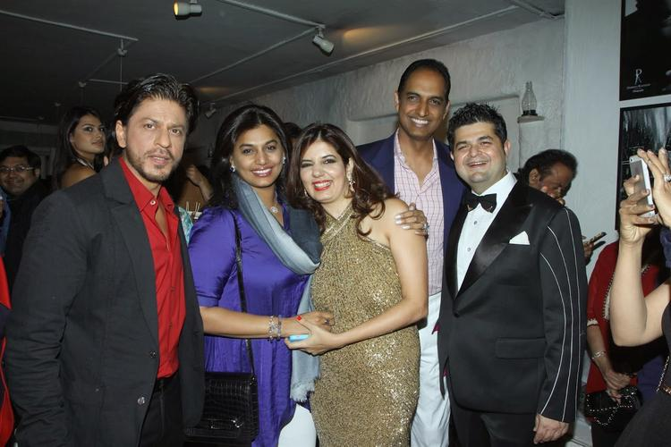 Dabboo And His Wife With Celebs At Ratnani's Calendar 2014 Launch Event