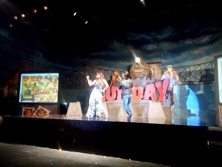 Priyanka Chopra And Ranveer Singh Shake Their Legs At The Music Launch Of Film Gunday