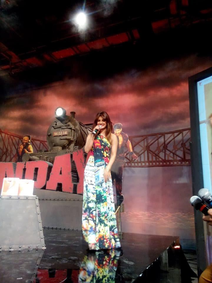 Priyanka Chopra Media Interaction During The Music Launch Of Film Gunday
