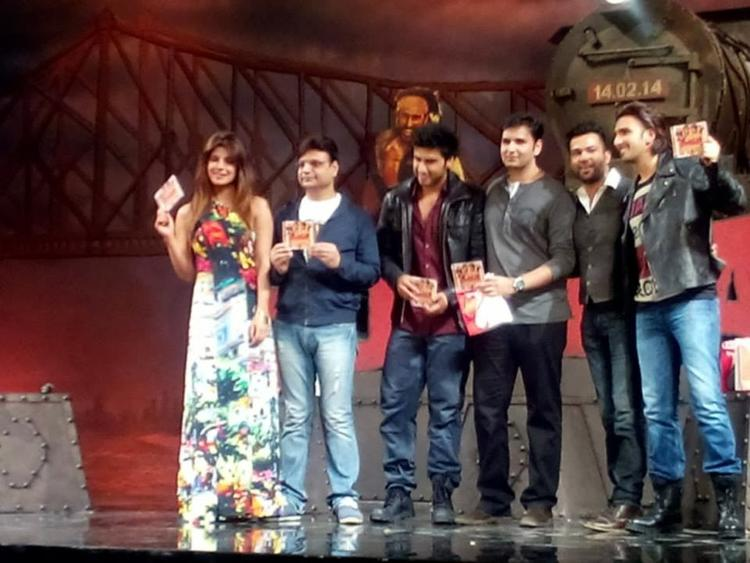 Priyanka,Arjun,Ali Abbas,Ranveer And Others Launched The Music Of Film Gunday