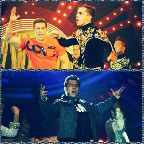 Salman Khan Rocking Performance At SAIFAI Mahotsav 2014