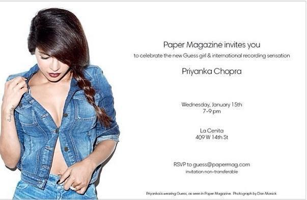 Priyanka Chopra Sexy Hot Pose Photo Shoot For Paper Magazine