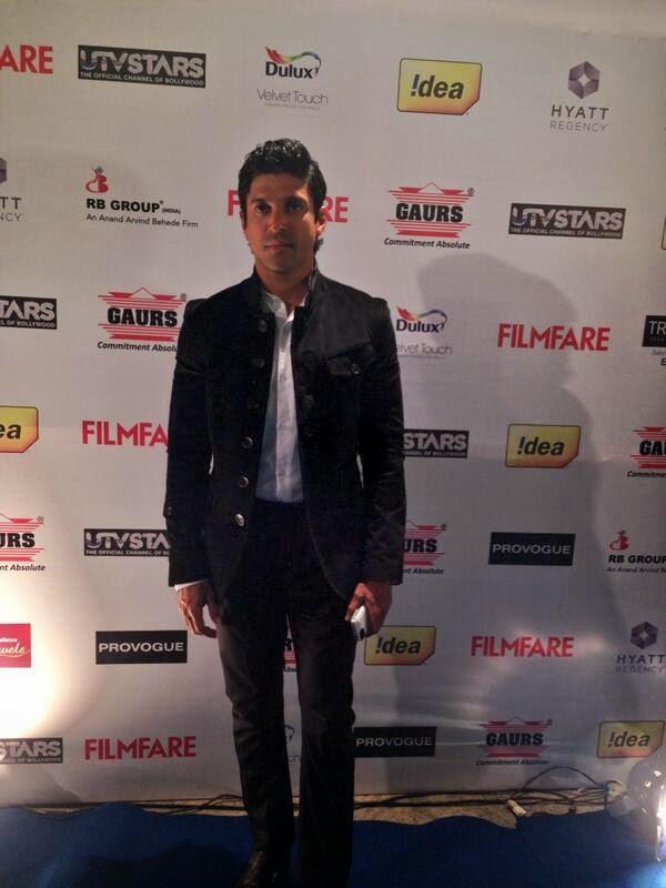 Farhan Akhtar At 59th Idea Filmfare Pre-Awards Party