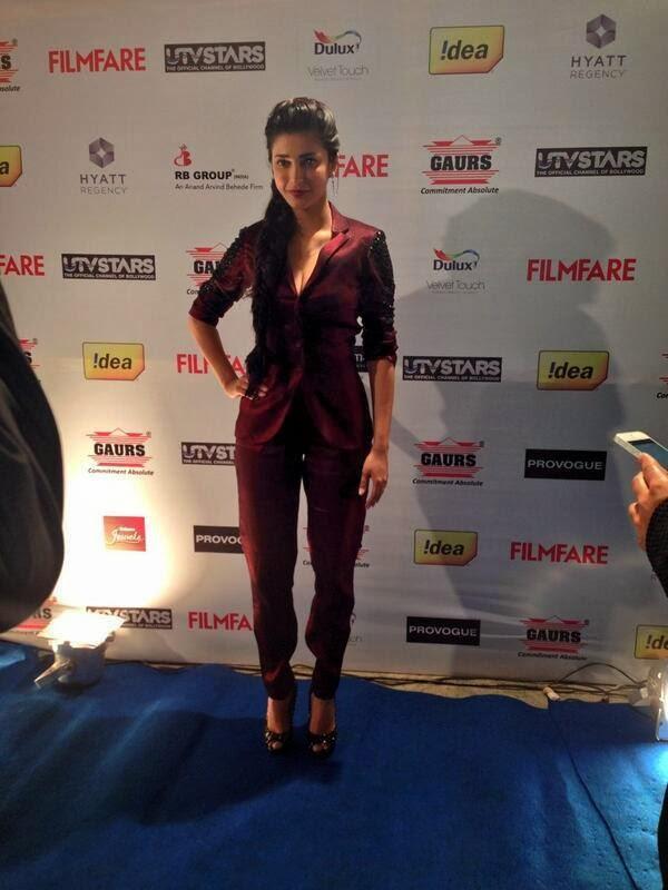 South Hot Queen Shruti Hassan During The 59th Idea Filmfare Pre Awards Party In Mumbai