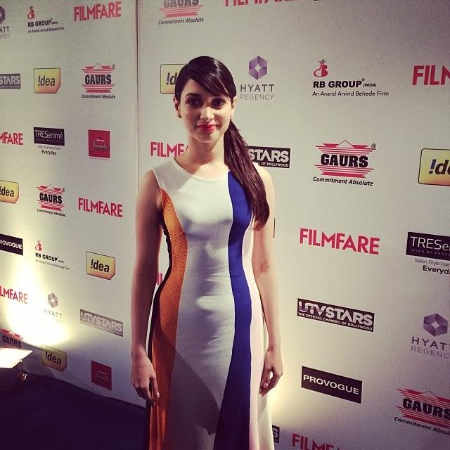 The Stunning Tamanna At 59th Idea Filmfare Pre-Awards Party
