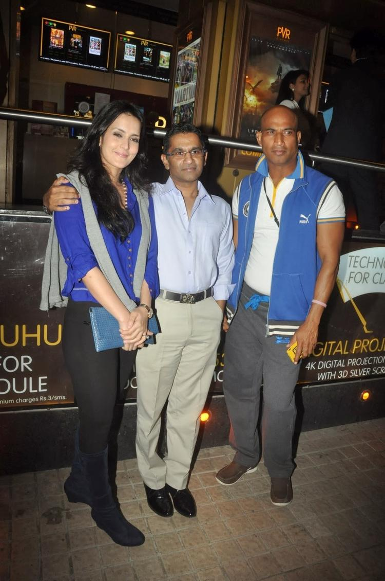 Tulip Joshi Also Came To Watch Sholay 3D With Salman Khan