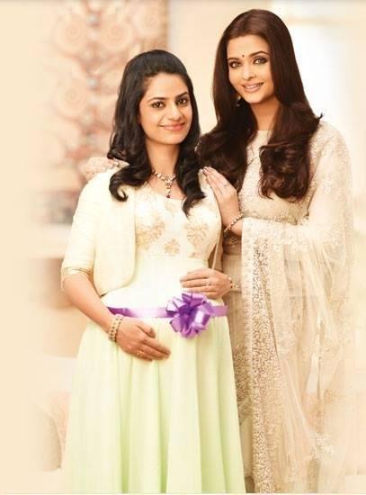 Aishwarya Rai Bachchan Nice Glamour Look Shoot For Lifecell Godh Bharai TV Ad 2014