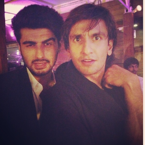 Ranveer And Arjun A Still From A Birthday Bash By Ali Abbas Zafar