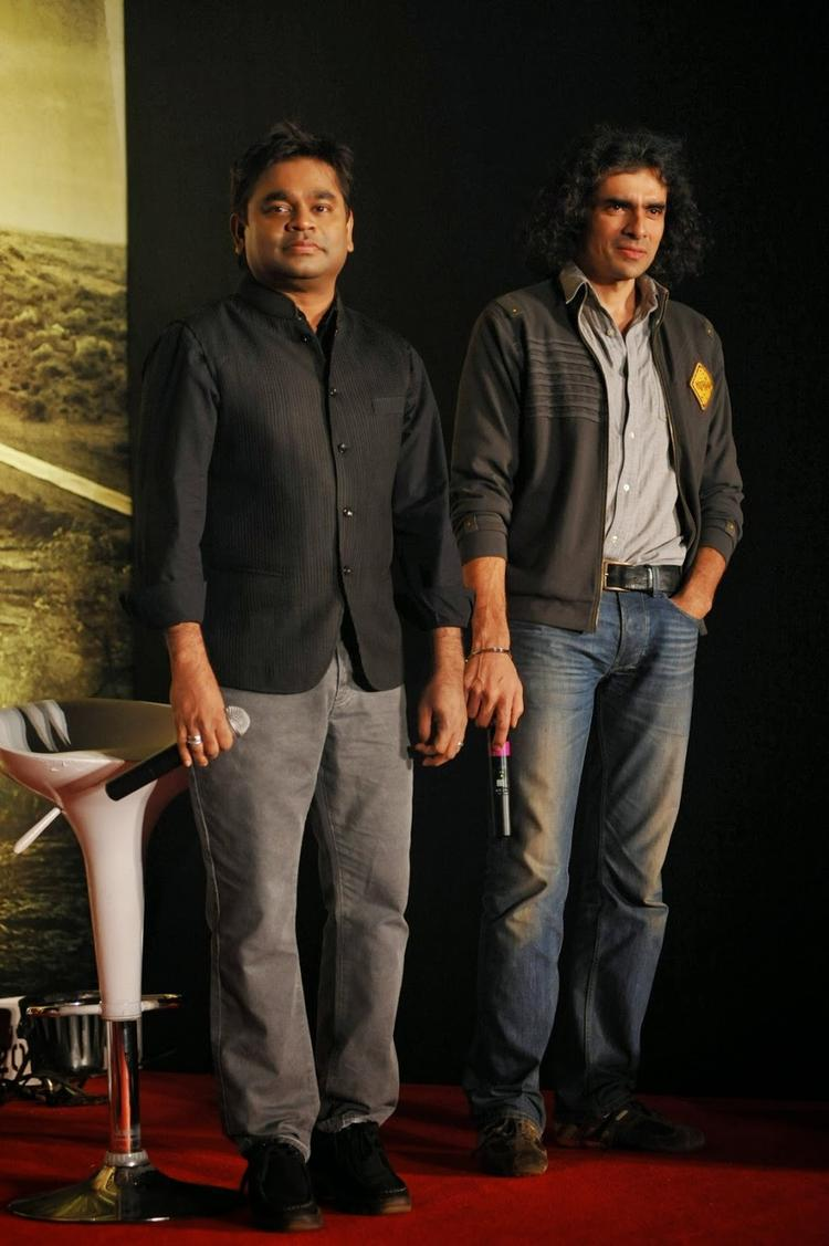 Imtiaz Ali And A R Rahman Spotted At Press Conference Of  Highway