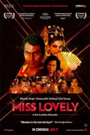 Nawazuddin Siddiqui,Niharika Singh And Others In The Miss Lovely Movie Poster