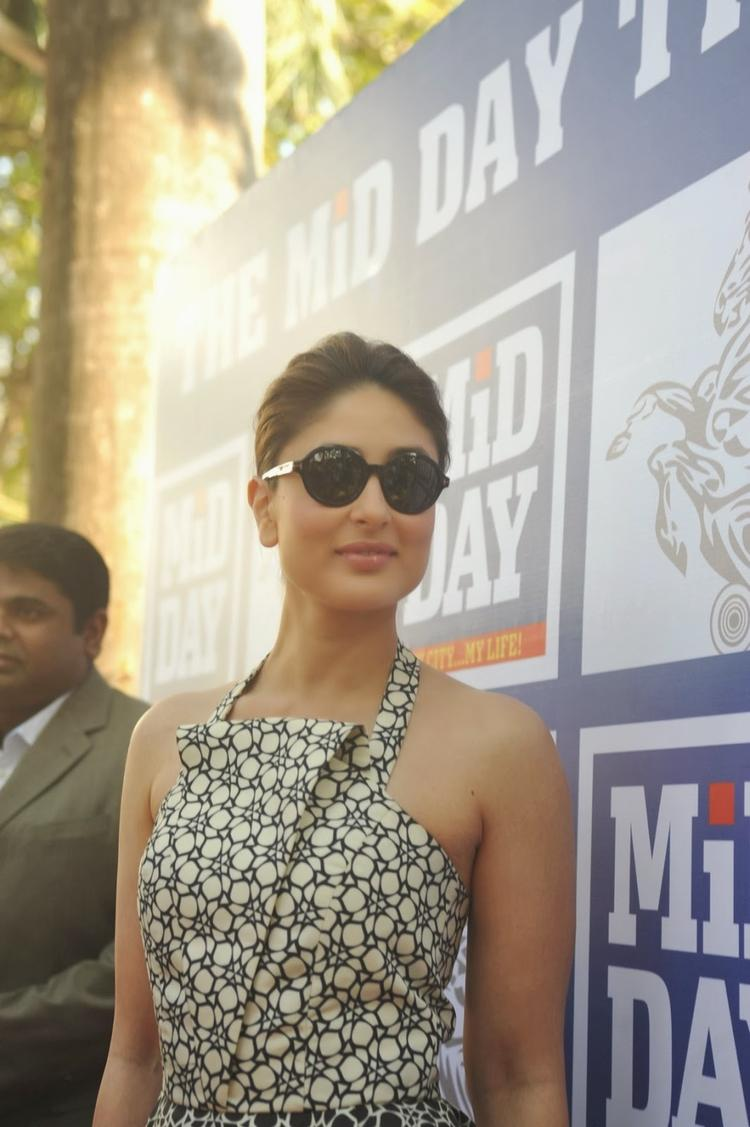 Beautiful Kareena Kapoor Looks Amazing At The Mid-Day Trophy Race Event