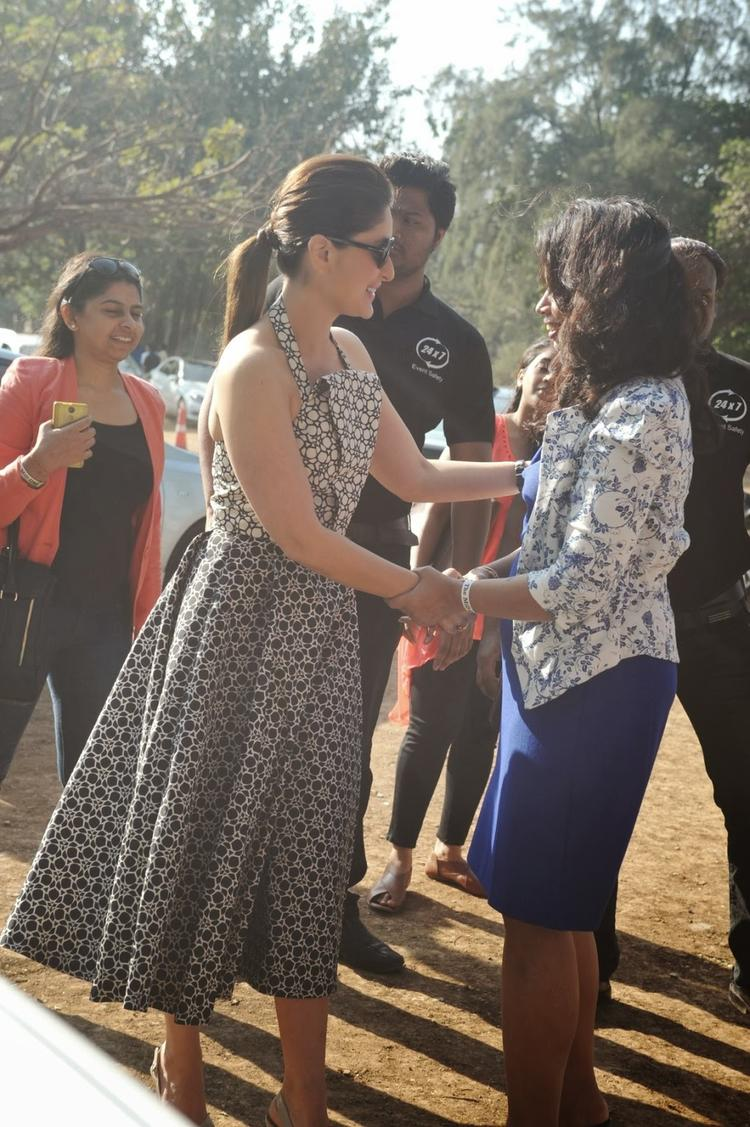 The Mid-Day Trophy Race Event Kareena Kapoor Khan Pic