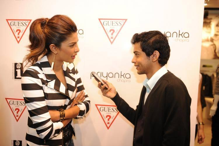 Beauty Queen Priyanka Chopra Visits The GUESS Store In London