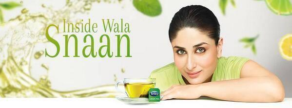 Kareena Kapoor Khan Sizzling Ad For Tata Tetley Green Tea