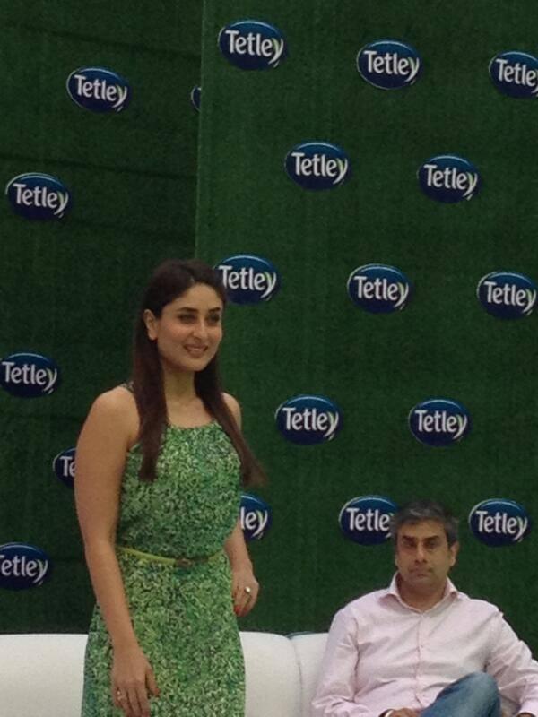 Kareena Kapoor Launch Tetley Green Tea With Six Different Flavors