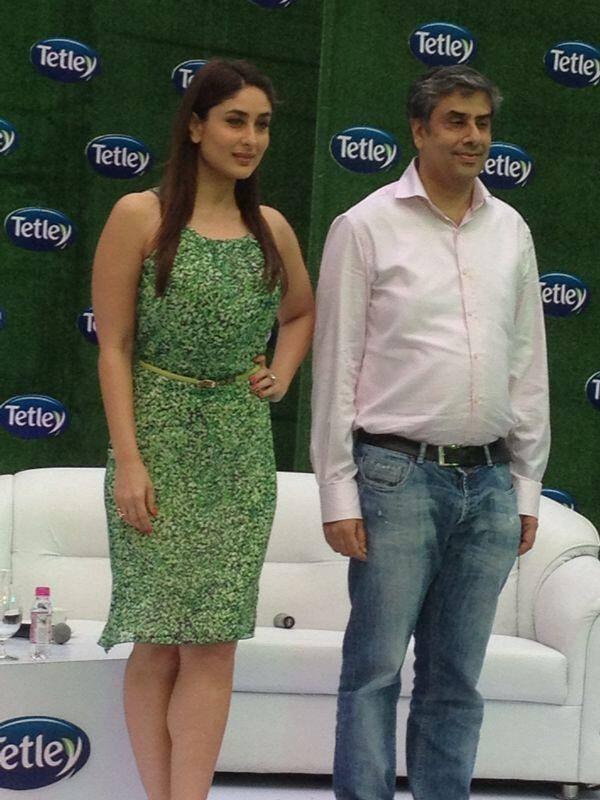 Kareena Kapoor Re Launches Tetley Green Tea