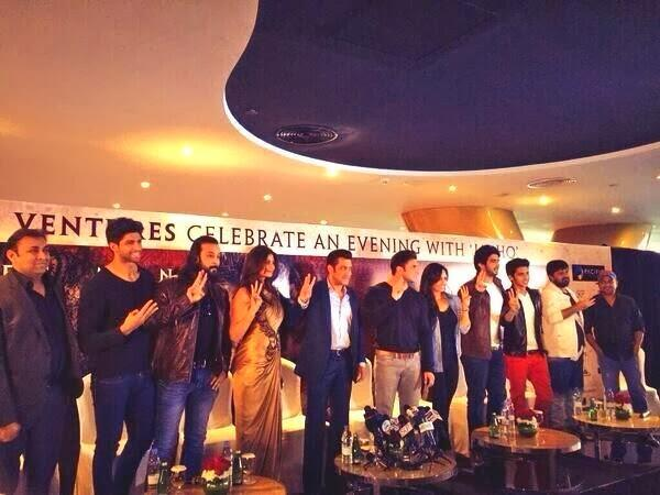 Cast And Crew Promote Their Upcoming Movie Jai Ho In Dubai