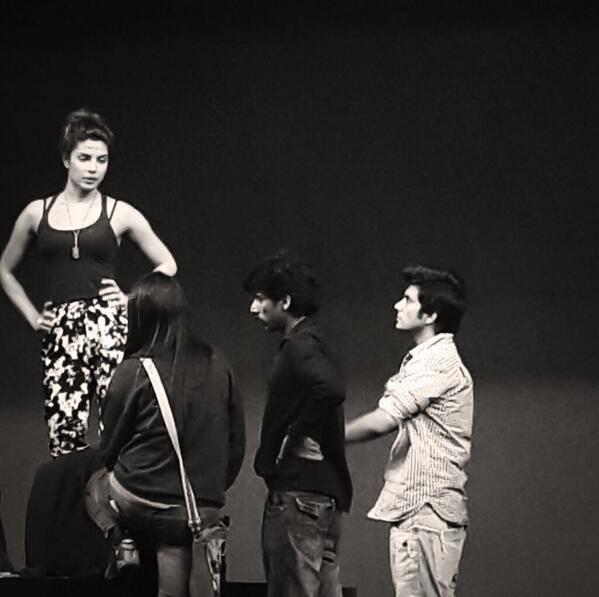 Priyanka Chopra Rehearse On The Stage For 59th Filmfare Awards Ceremony