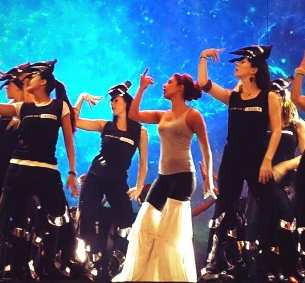 Priyanka Chopra Dance Rehearse For 59th Filmfare Awards