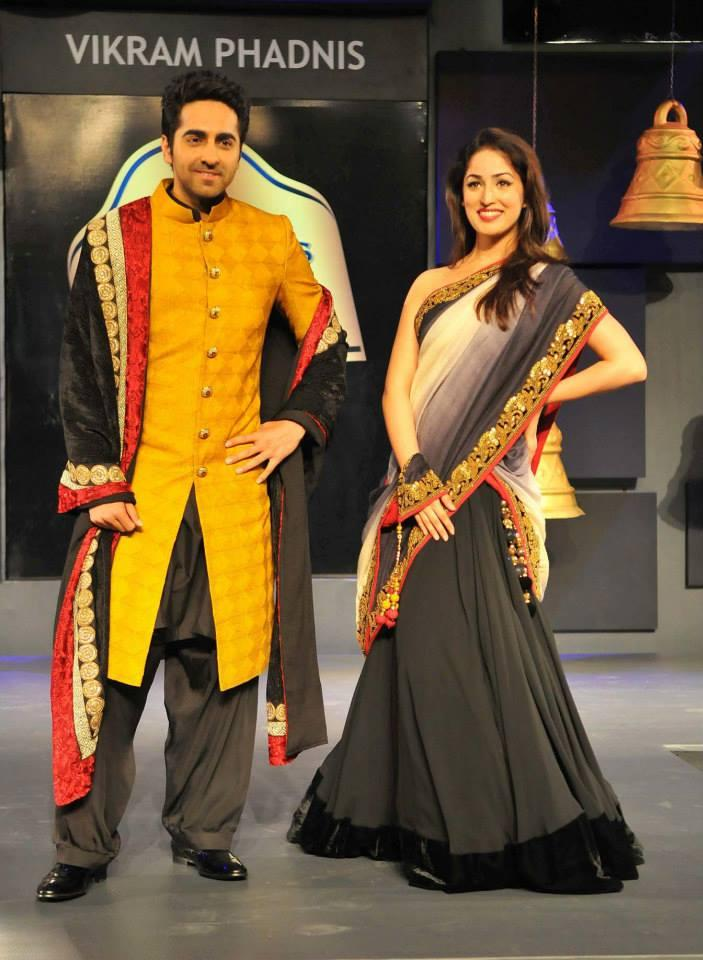 Vicky Donor Ayushman And Yami Gautam Set Stage On Fire At Seagram's Blenders Pride Fashion Tour