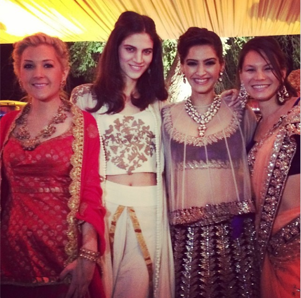 Sonam Kapoor Cousin Karan's Wedding Ritual Latest Pic