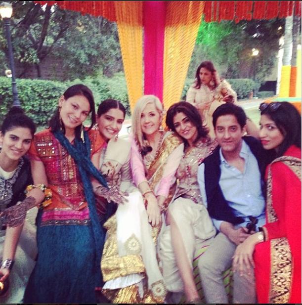 Sonam Kapoor Joins Sister Rhea For Cousin's Wedding Ceremony