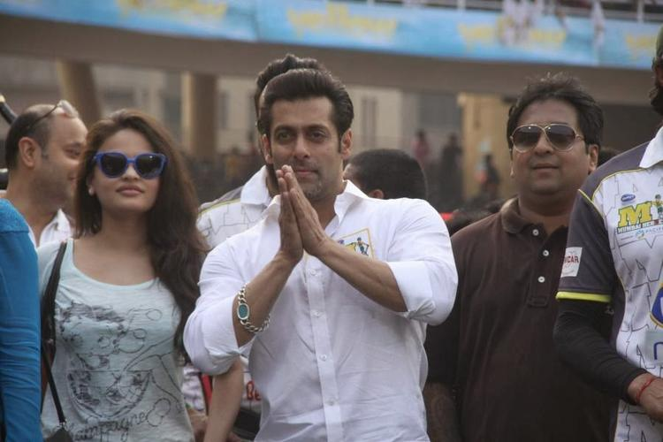 Salman Khan Snapped At CCL Opening Event