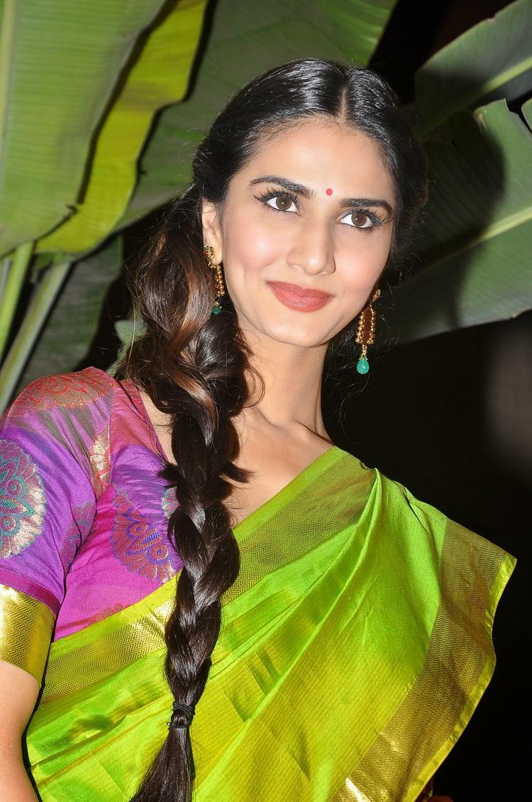 Glamour Vaani Kapoor At Aaha Kalyanam Audio Launch Event