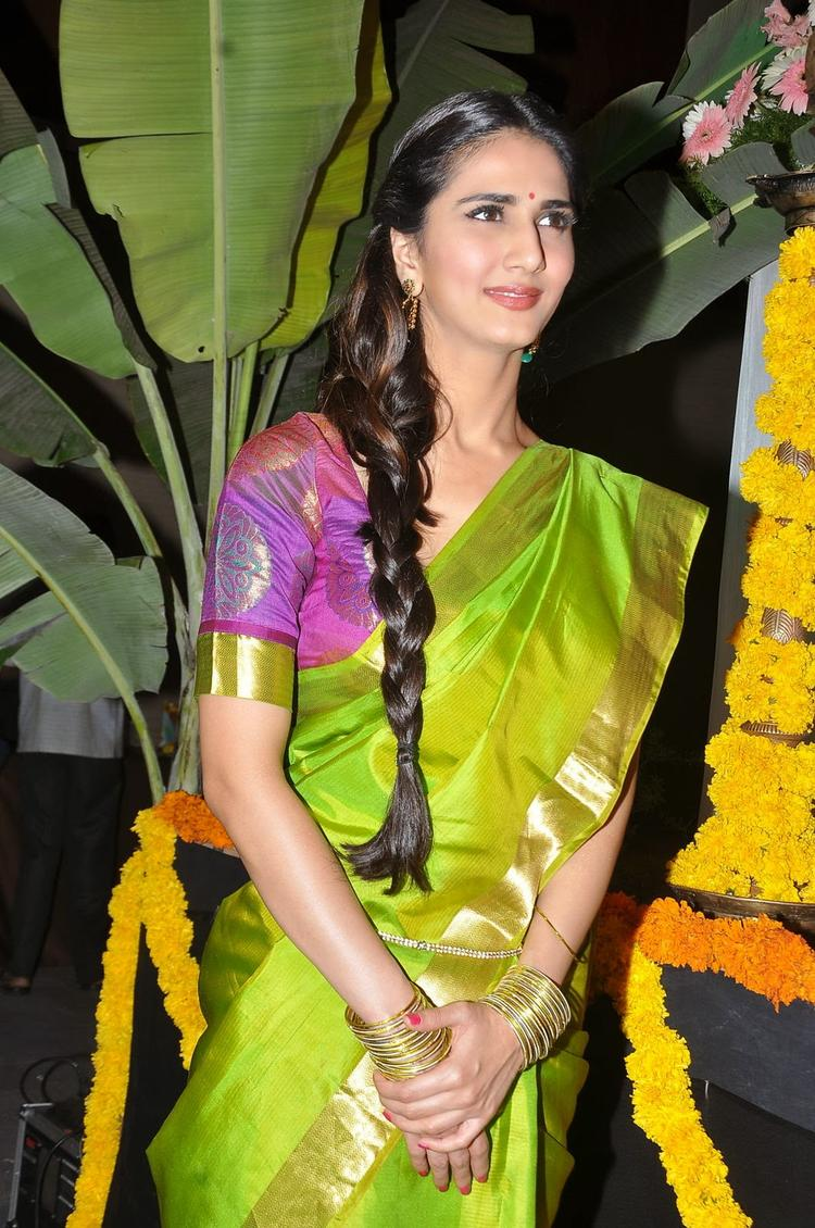 Vaani Kapoor Charming Face Look At Aaha Kalyanam Audio Launch Event