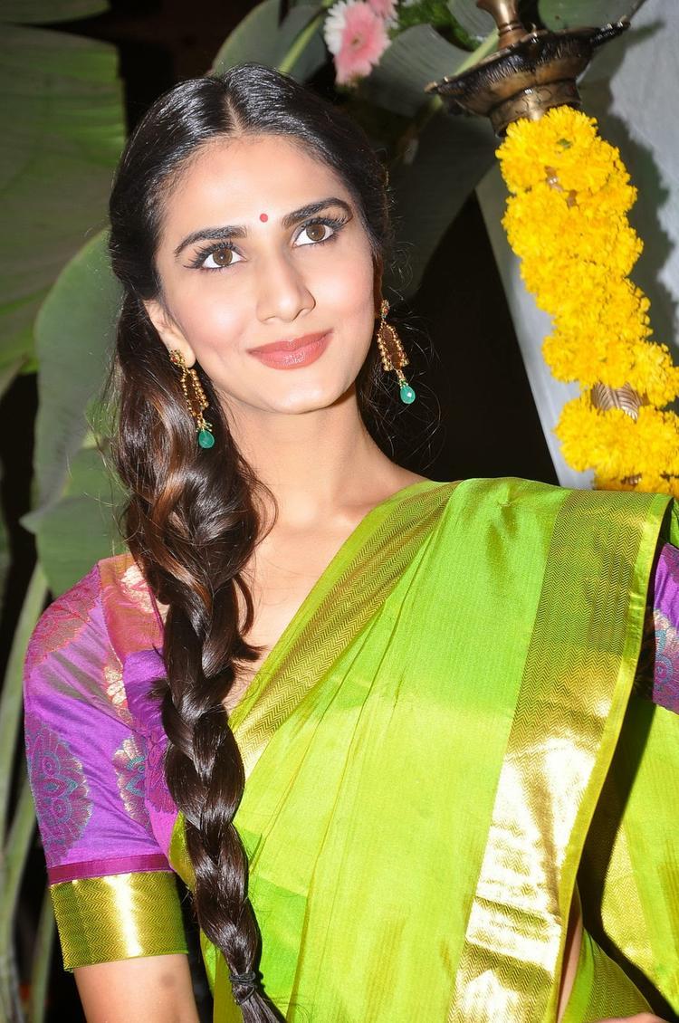 Vaani Kapoor Looks Elegant During Aaha Kalyanam Audio Launch Event