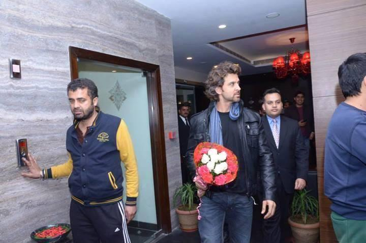 Hrithik Roshan Spotted At A Shimla Hotel
