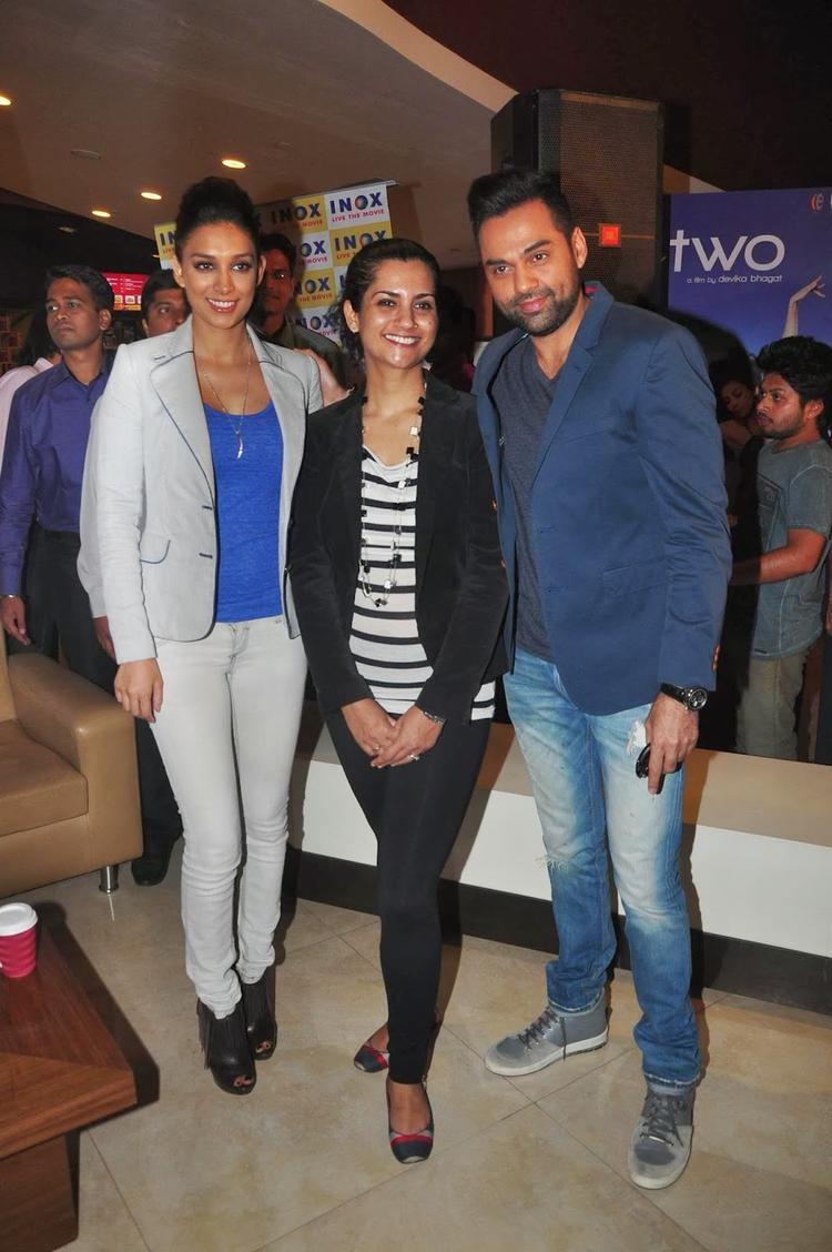 Abhay And Preeti Launch One By Two Merchandise