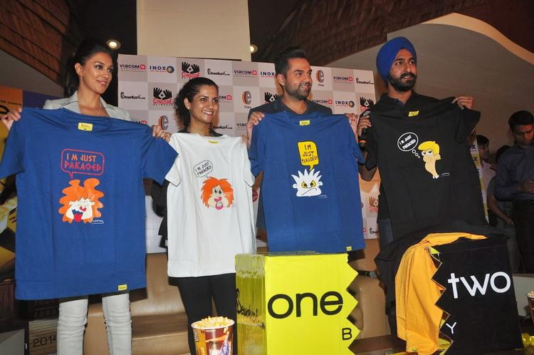 Abhay Deol And Preeti Desai Launch 'One By Two' Merchandise