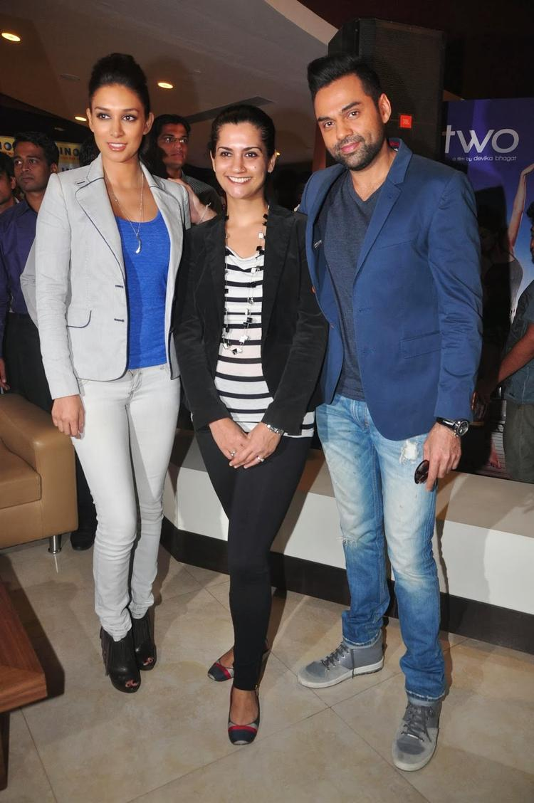 Preeti Desai And Abhay Deol Launches One By Two Film Merchandise With Their Director Devika Bhagat