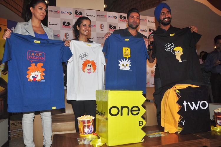 Preeti Desai, Devika Bhagat And Abhay Deol Launch 'One By Two' Merchandise At Inorbit Mall Malad