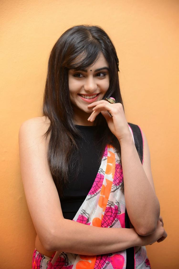 Adah Sharma Flashes Smile At Heart Attack Audio Success Meet Event