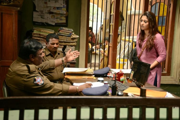 Nayantara In A Police Station Nice Still From Anamika Tamil Movie