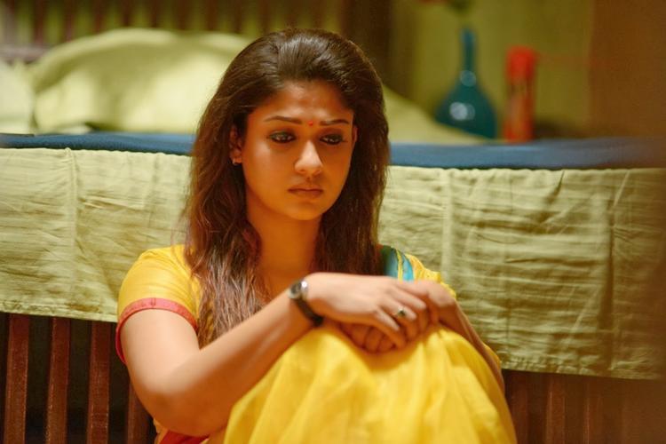 Nayantara In Saree Beautiful Look Still From Anamika Tamil Movie